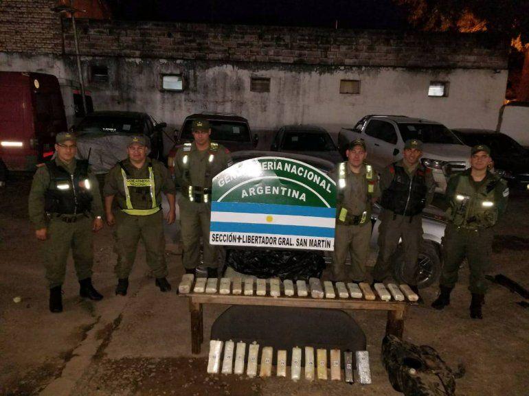 Yuto: detienen a un hombre que llevaba 19 kilos de cocaína en el tanque de combustible