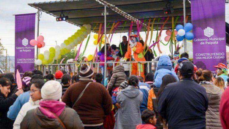 Palpalá presenta Colores de Alegría en el Barrio Santa Bárbara
