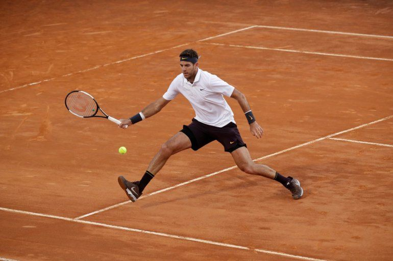 Del Potro se metió en los cuartos de final y jugará contra Djokovic