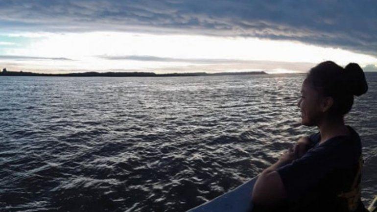 Con el corazón en el mar: Mirna Flores, una de las jujeñas que eligió dedicar su vida a la Patria