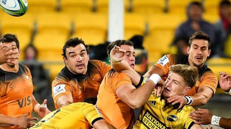 Jaguares dio el golpe y logró otro histórico triunfo en Nueva Zelanda