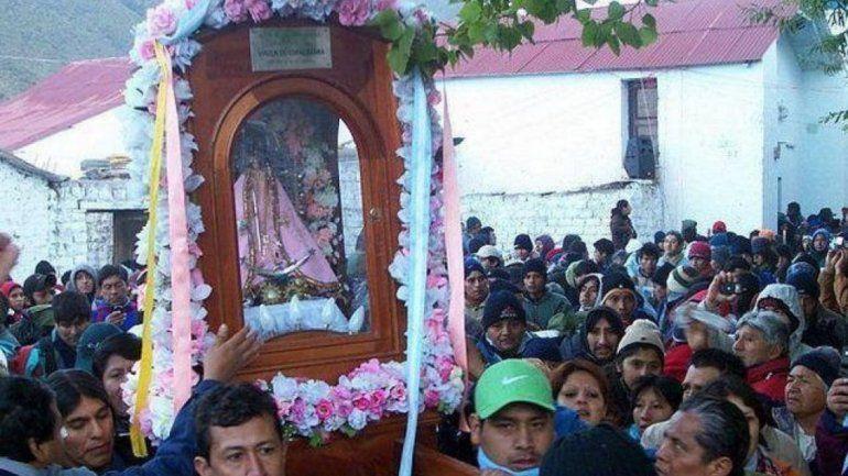 El 5 de abril será el descenso de la Virgen de Punta Corral