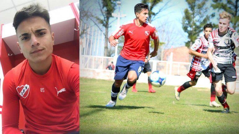 Lucas González Martínez a un paso de debutar en la primera de Independiente