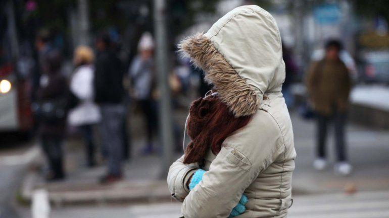 El frio llegó para quedarse: las bajas temperaturas seguirán pero se descarta la posibilidad de lluvias