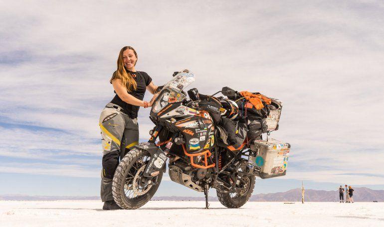 Recorre el mundo en moto hace 6 años y se enamoró de Jujuy