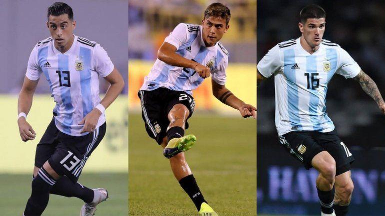 Selección Argentina: Dybala, De Paul y Funes Mori, a la Copa América