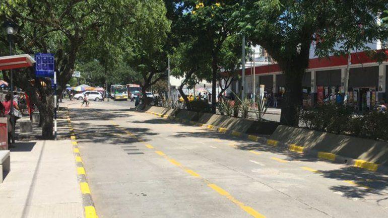 Cuarto día de paro de colectivos en Jujuy