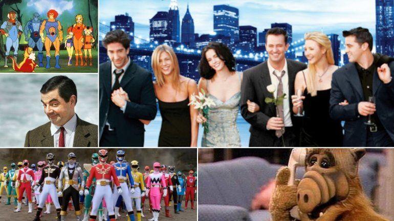 Para los nostálgicos: las series más populares de la TV de los años 90s