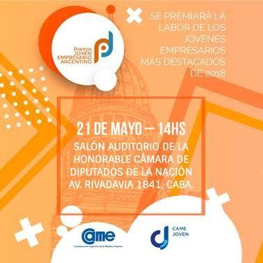 Emanuel Inca, el joven emprendedor jujeño, fue reconocido a nivel nacional