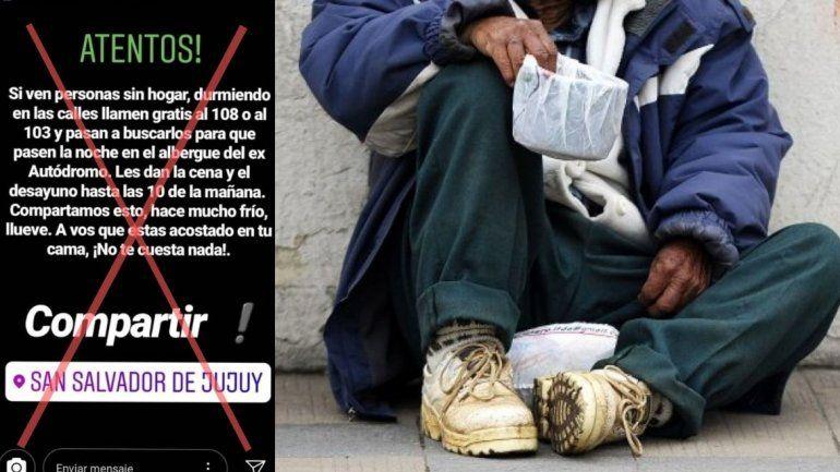 Que las redes no te confundan, estos son los números reales para ayudar a las personas en situación de calle