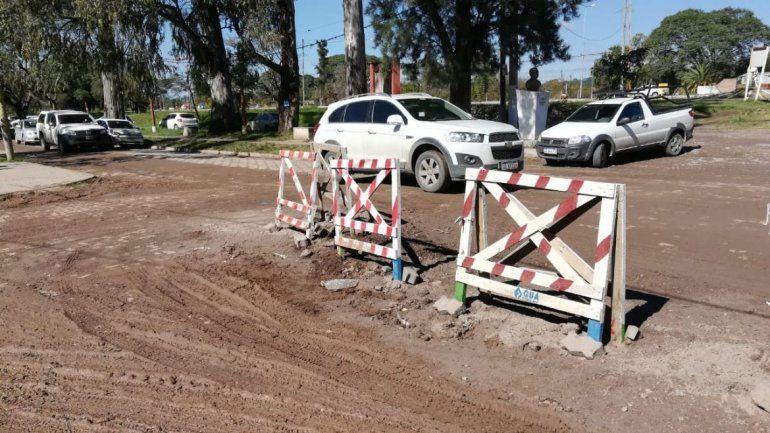 Reclaman una solución urgente y definitiva al mal estado de los accesos en Río Blanco