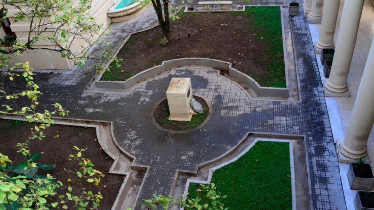 Lanzan un concurso para encontrar la nueva obra del Patio de las Magnolias de Casa de Gobierno
