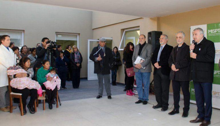 Inauguraron una residencia para madres en el hospital Materno Infantil