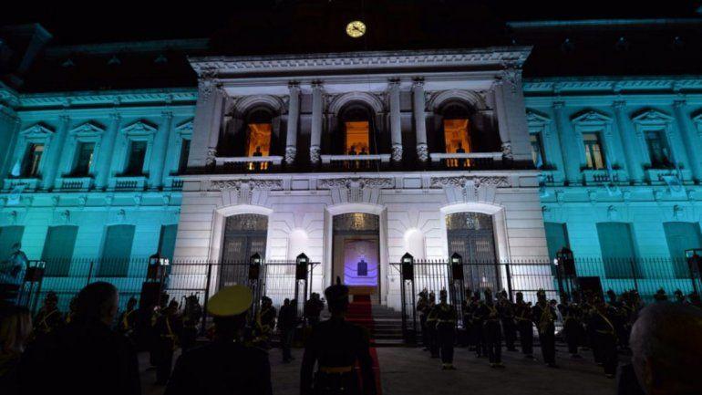 Ayer se realizó el tradicional relevo histórico en Casa de Gobierno