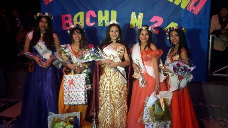 La bella Laila Caro Gómez es la nueva Reina del Bachi 21