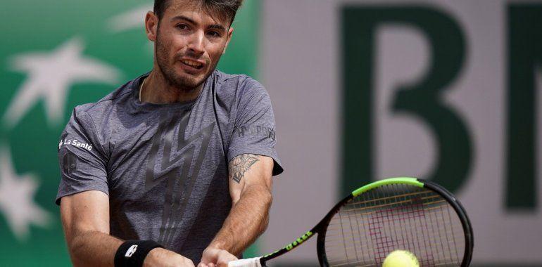 El argentino Juan Londero dio la primera sorpresa en Roland Garros
