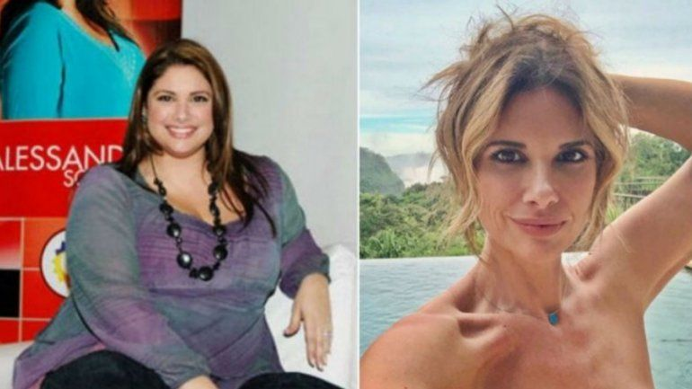 Alessandra Rampolla: mostró orgullosa los sorprendentes resultados luego de bajar 50 kilos