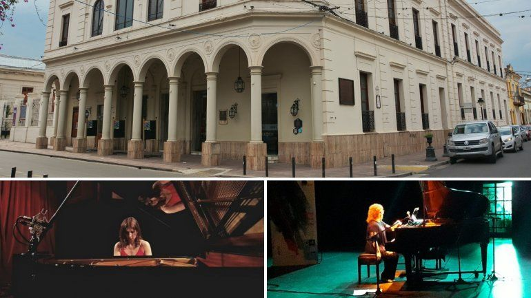 Dos prestigiosas pianistas se presentan en junio en el Teatro Mitre