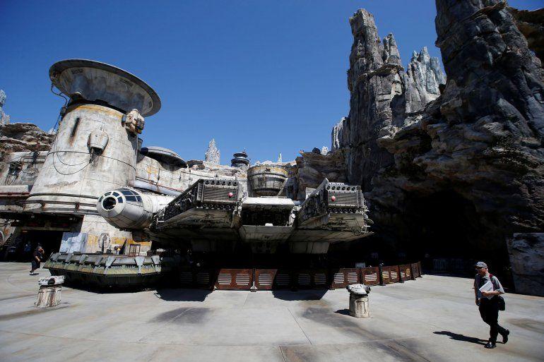 Así es el nuevo parque Star Wars: Galaxys Edge en Disney