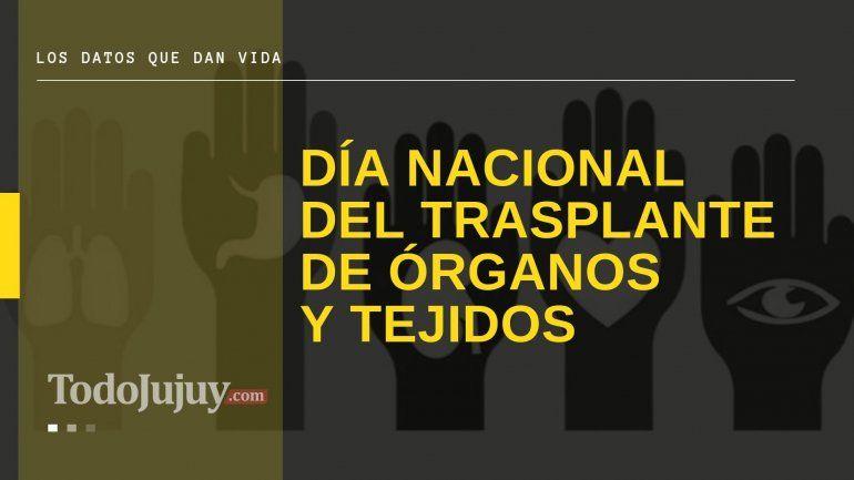 Jujuy, séptima entre las provincias con mejor tasa de donantes de órganos en el 2019