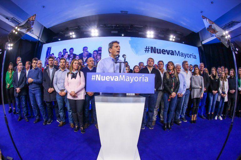 Massa: Pensamos que la Argentina se merece otro futuro y tenemos la convicción de ser parte de una nueva mayoría