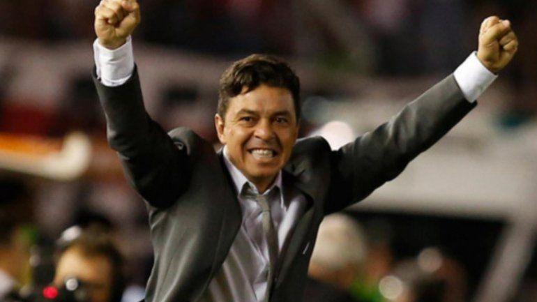 Marcelo Gallardo se transformó en el DT más ganador de la historia de River