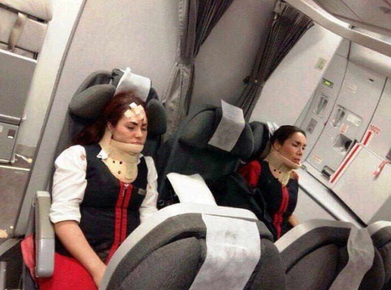 Más de 15 heridos por las turbulencias en un vuelo entre Lima y Buenos Aires