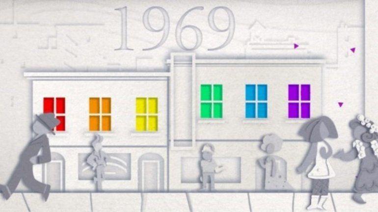 La celebración del Orgullo Gay cumple 50 años y hasta Google lo festeja