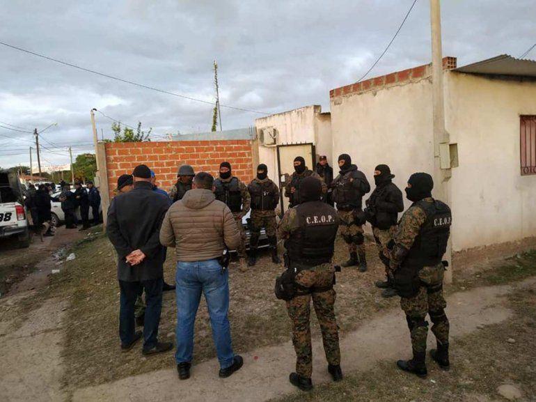 Impactante operativo en San Pedro: secuestraron drogas, armas y vehículos