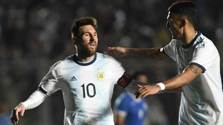 La Selección Argentina se despidió con una goleada ante Nicaragua