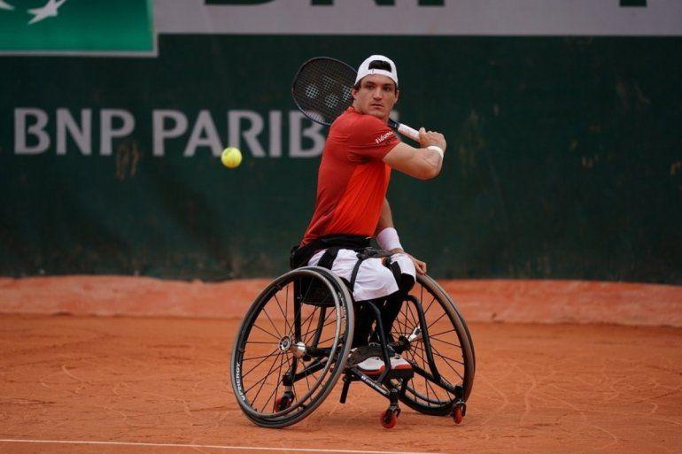 Gustavo Fernández en la cima: volvió a ganar un Grand Slam