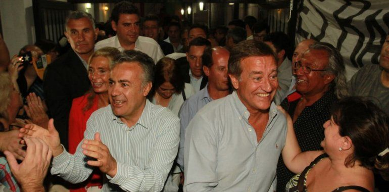 Cornejo y Suarez juntos.