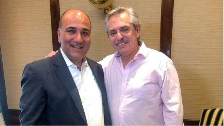 Alberto Fernández felicitó por twitter a Manzur por una gran elección