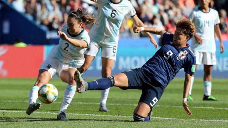 La Selección Femenina sumó su primer punto en el Mundial