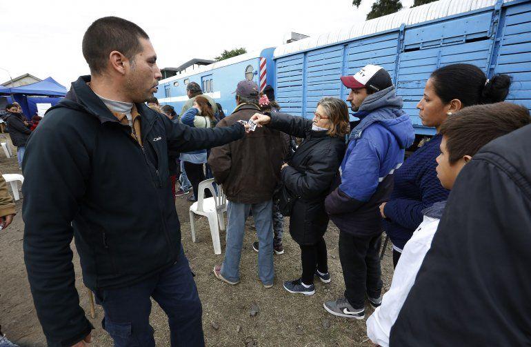 Más de 4 mil personas pasaron por el Tren de El Estado en Tu Barrio durante su primera semana en Ledesma
