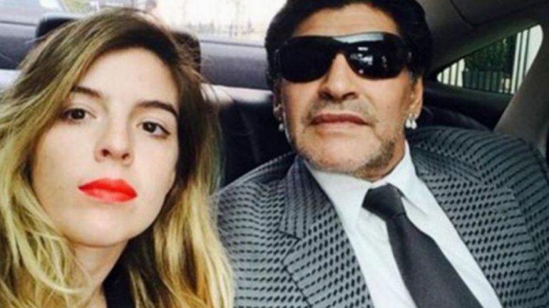 Enojada, Dalma Maradona desmintió un encuentro con Diego y su hija Roma