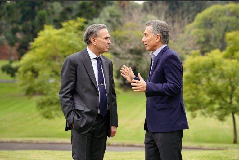 Macri y Pichetto juntos