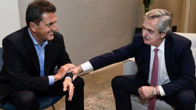 Llegó el café: Alberto Fernández y Massa cerraron alianza