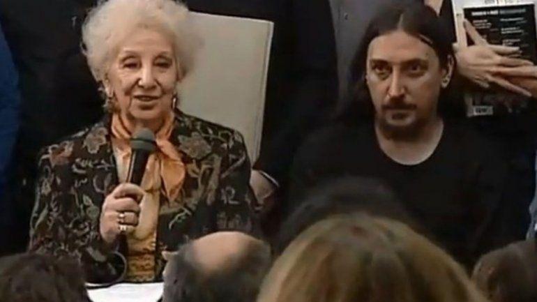 Abuelas de Plaza de Mayo presentó a Javier Matías, el nieto número 130