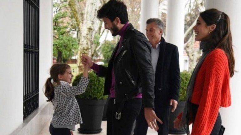 La hija de Macri conoció a su máximo ídolo: Sebastián Yatra estuvo en la Quinta de Olivos