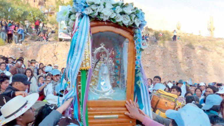 La Virgen de Punta Corral estará el finde en El Carmen