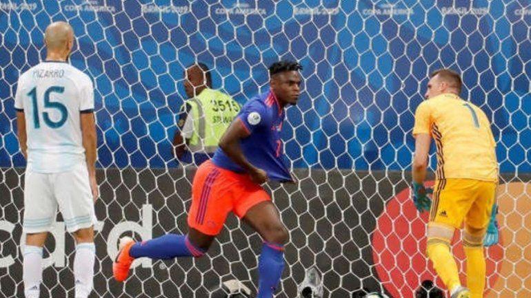 Colombia derrotó a la selección Argentina por 2 a 0