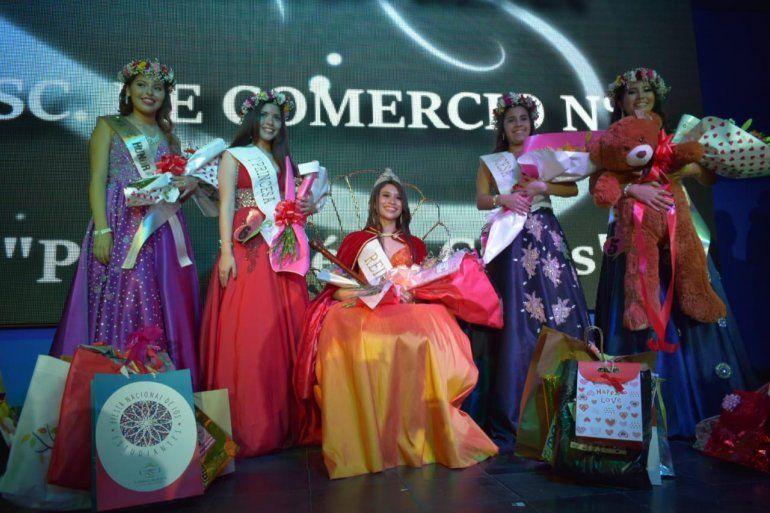 Antonella Jerez es la nueva soberana del Comercial 1