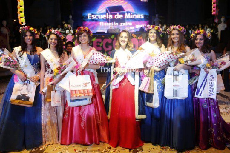 Ariadna Ruarte es la nueva reina de la Escuela de Minas