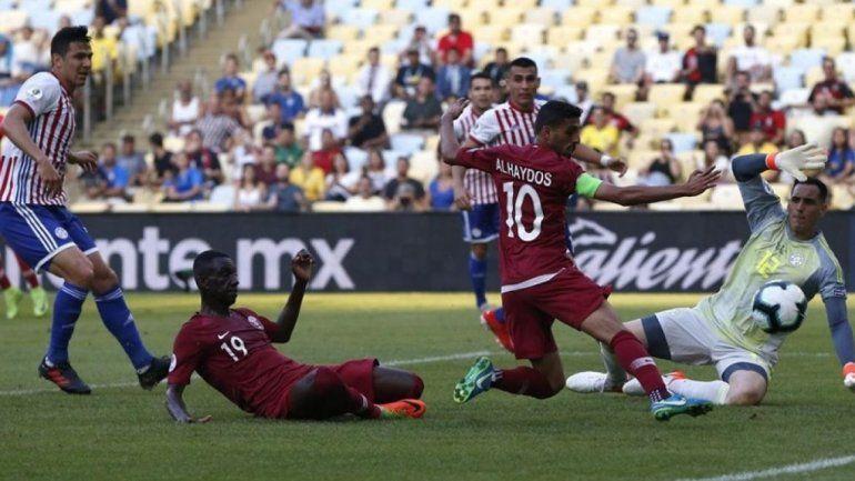 Paraguay empató 2 a 2 con Qatar en la Copa América 2019