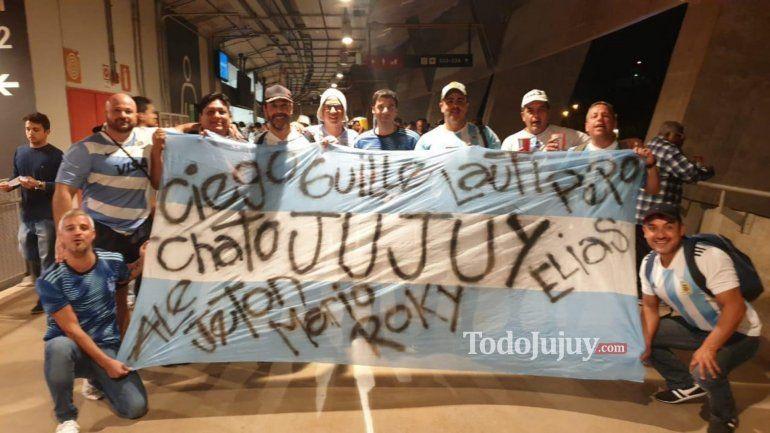 Jujuy dijo presente en el empate de Argentina ante Paraguay