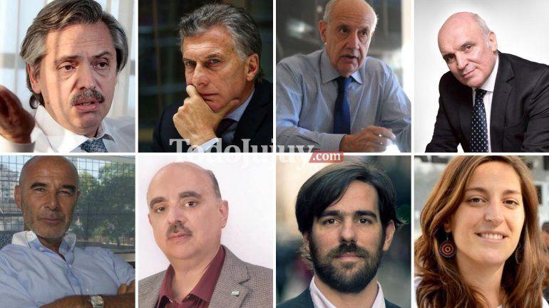 País: A horas del cierre de listas ya se conocen algunos nombres por las redes