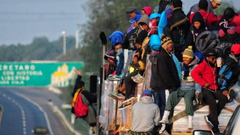 Más de 200 migrantes centroamericanos han sido detenidos en México