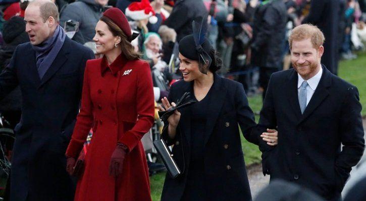 Ruptura oficial entre los hermanos de la realeza