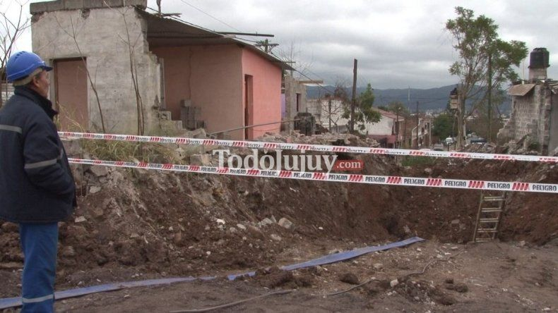 Las familias evacuadas por la rotura del acueducto recibirán un terreno para construir